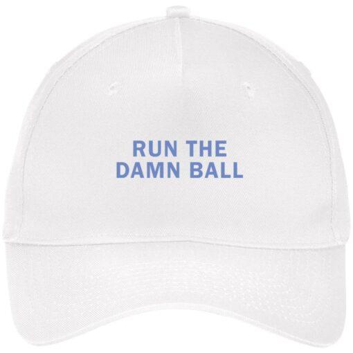 Run the damn ball hat, cap $24.75 redirect05022021210550