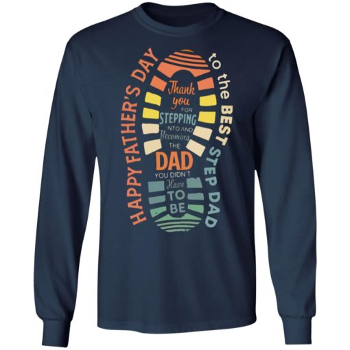 Thank you for stepping into and becoming the dad shirt $19.95 redirect05032021050523 5