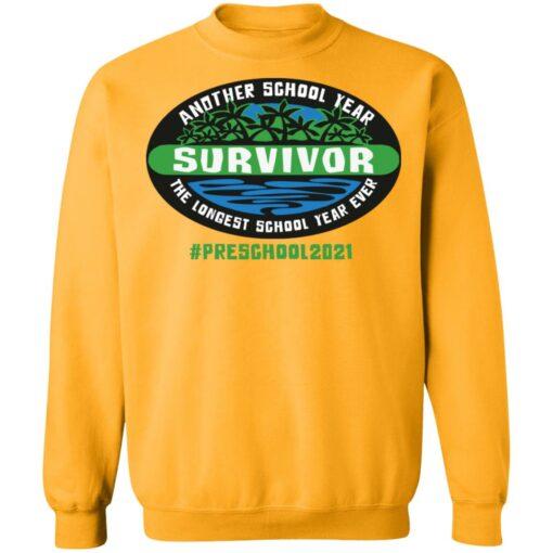 Another school year survivor the longest school year ever Preschool 2021 shirt $19.95 redirect05032021220513 9