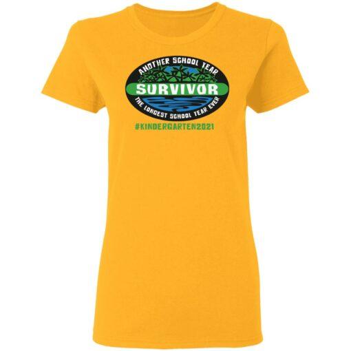 Another school year survivor the longest school year ever kindergarten 2021 shirt $19.95 redirect05032021220555 2