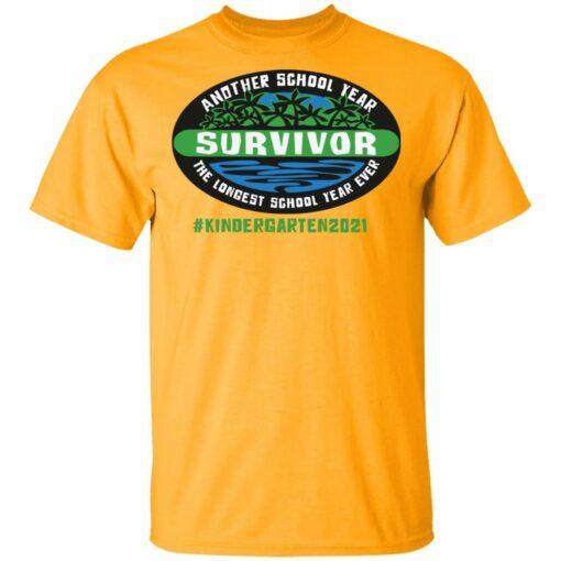 Another school year survivor the longest school year ever kindergarten 2021 shirt $19.95 redirect05032021220555
