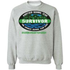 Another school year survivor the longest school year ever kindergarten 2021 shirt $19.95 redirect05032021220555 8
