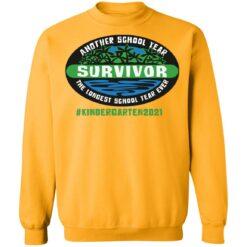 Another school year survivor the longest school year ever kindergarten 2021 shirt $19.95 redirect05032021220555 9