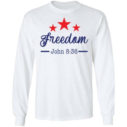 Star freedom John 8 36 shirt $19.95 redirect05042021030528 5