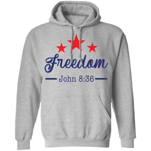 Star freedom John 8 36 shirt $19.95 redirect05042021030528 6