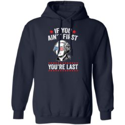 George Washington if you ain't first you're last shirt $19.95 redirect05042021060550 7