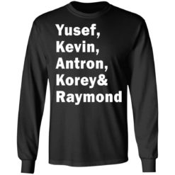 Yusef Kevin Antron Korey and Raymond shirt $19.95 redirect05042021220503 4