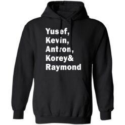 Yusef Kevin Antron Korey and Raymond shirt $19.95 redirect05042021220503 6