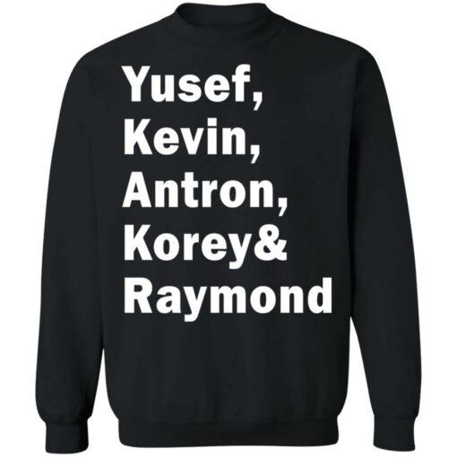 Yusef Kevin Antron Korey and Raymond shirt $19.95 redirect05042021220503 8