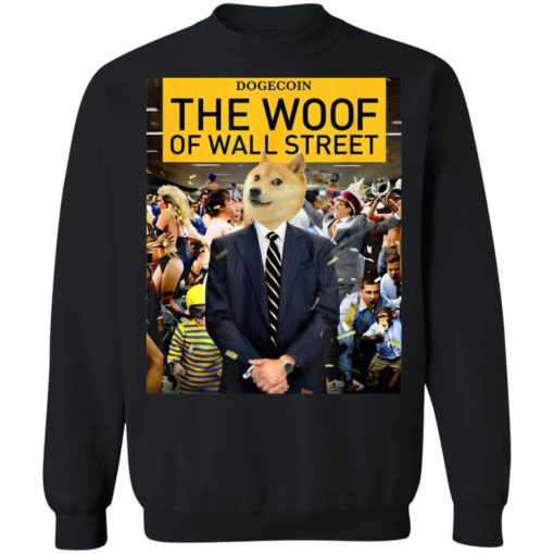 Dogecoin the woof of wall street shirt $19.95 redirect05042021220545 8
