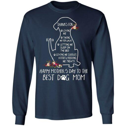 Thanks for loving me taking me for walks dog mom shirt $19.95 redirect05042021220557 5