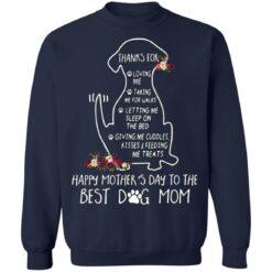 Thanks for loving me taking me for walks dog mom shirt $19.95 redirect05042021220557 9