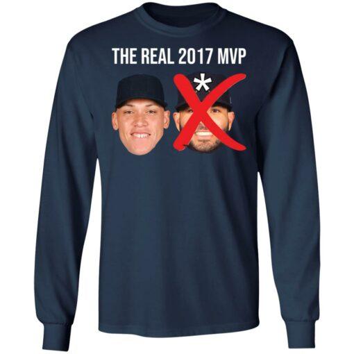 The real 2017 MVP Aaron Judge not Altuve shirt $25.95 redirect05052021000501 10