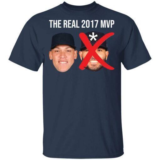 The real 2017 MVP Aaron Judge not Altuve shirt $25.95 redirect05052021000501 2