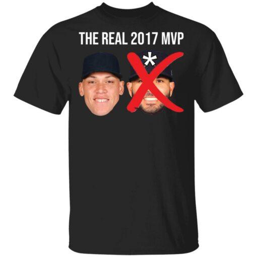 The real 2017 MVP Aaron Judge not Altuve shirt $25.95 redirect05052021000501