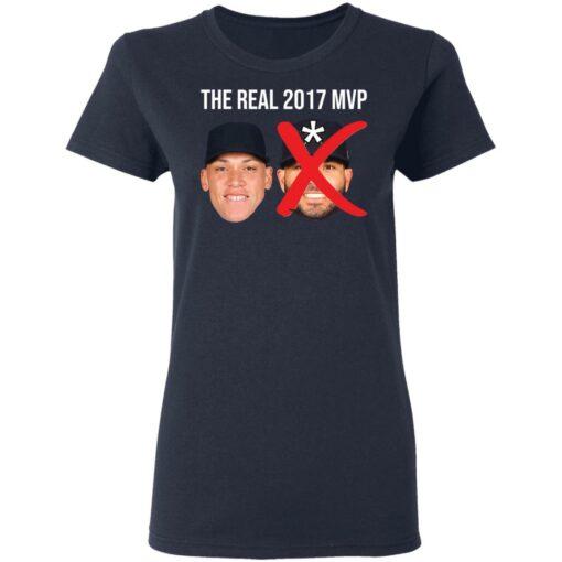 The real 2017 MVP Aaron Judge not Altuve shirt $25.95 redirect05052021000501 6