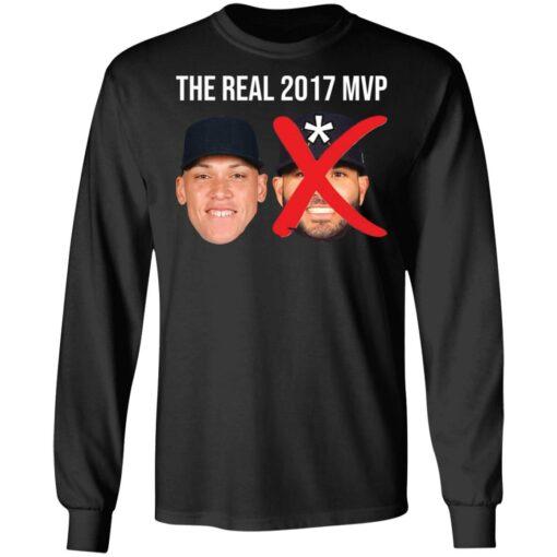 The real 2017 MVP Aaron Judge not Altuve shirt $25.95 redirect05052021000501 8