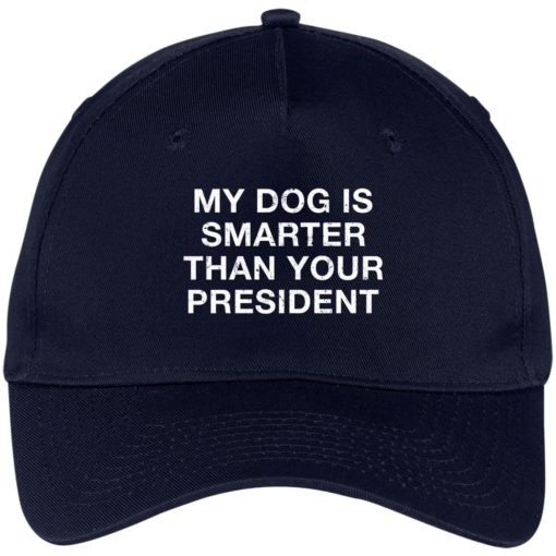 My dog is smarter than your president hat, cap $24.75 redirect05052021000505 1