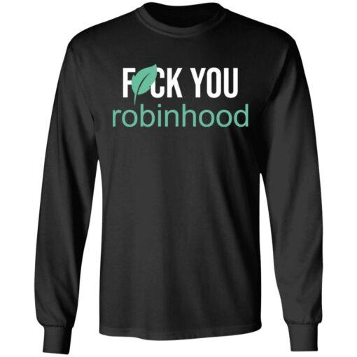 Fuck you Robinhood shirt $19.95 redirect05052021000549