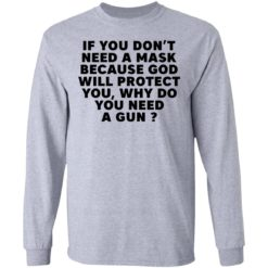 If you don't need a mask because God will protect you why do you need a gun shirt $19.95 redirect05052021030503 4