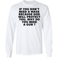 If you don't need a mask because God will protect you why do you need a gun shirt $19.95 redirect05052021030503 5