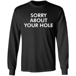 Sorry about your hole shirt $19.95 redirect05052021220505 4