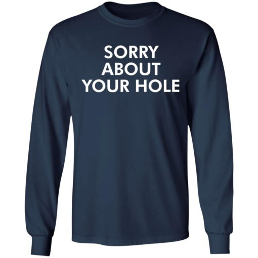 Sorry about your hole shirt $19.95 redirect05052021220505 5