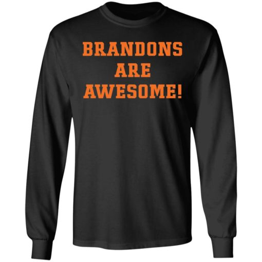 Brandons are awesome shirt $19.95 redirect05052021220543