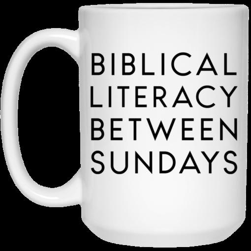 Biblical literacy between Sundays mug $14.95 redirect05102021030552 2
