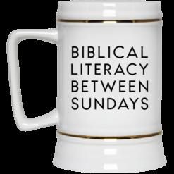 Biblical literacy between Sundays mug $14.95 redirect05102021030552 3