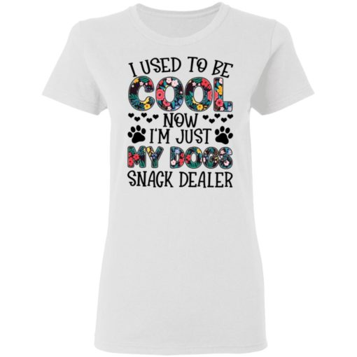 I used to be cool now i'm just my dogs snack dealer shirt $19.95 redirect05102021040558 2