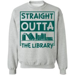 Book straight outta the library shirt $19.95 redirect05112021000515 17