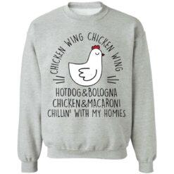 Chicken wing chicken wing hotdog and bologna shirt $19.95 redirect05112021030533 6
