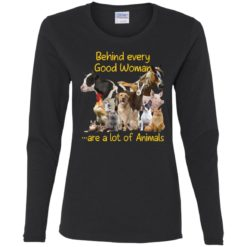 Behind every good woman are a lot of animals shirt $23.95 redirect05122021210552 1