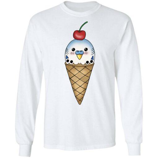 Budgie in ice cream cone shirt $19.95 redirect05142021000533 5