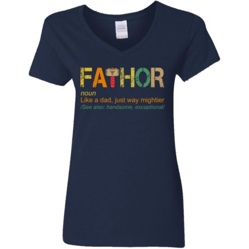 Fathor like a dad just way mightier shirt $19.95 redirect05202021230504 3