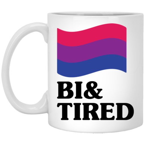 Bisexual flag bi and tired mug $16.95 redirect05202021230509