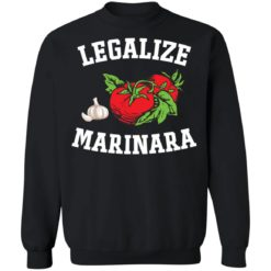 Garlic and tomato legalize marinara shirt $19.95 redirect05202021230527 8