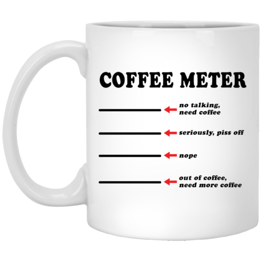 Coffee meter no talking need coffee seriously piss off mug $16.95 redirect05212021020519