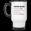 XP8400W White Travel Mug