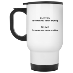 Grammatical difference Clinton Trump you can do anything mug $16.95 redirect05212021230545 1