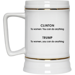 Grammatical difference Clinton Trump you can do anything mug $16.95 redirect05212021230545 3