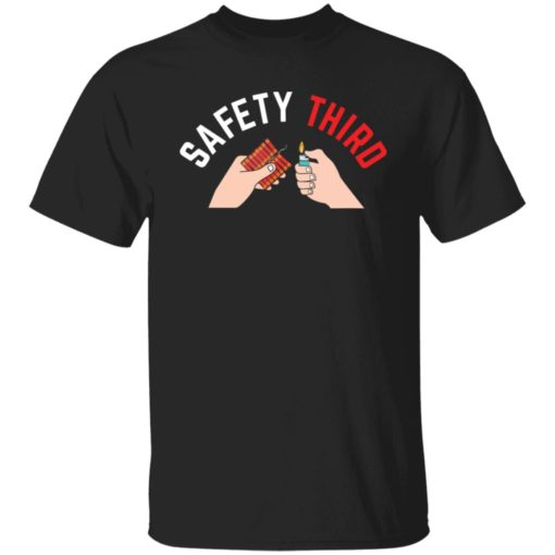 4th of july patriotic fireworks safety third shirt $19.95 redirect05242021000523