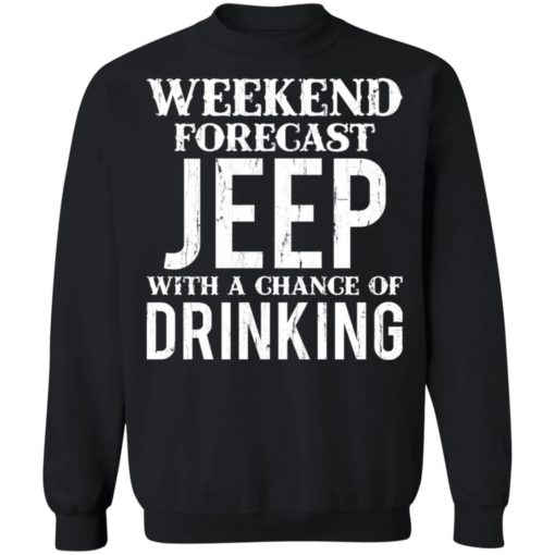 Weekend forecast jeep with a chance of drinking shirt $19.95 redirect05242021030533 8