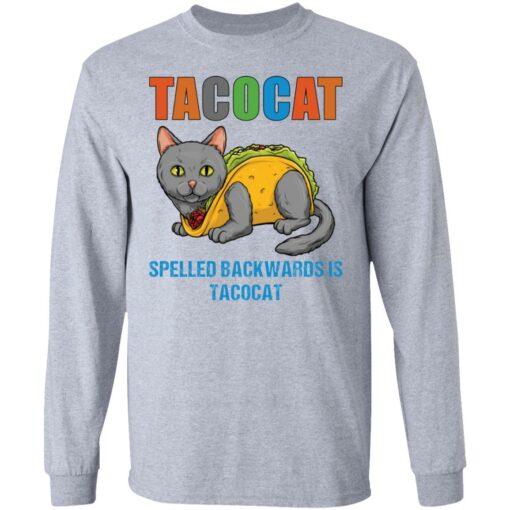 Tacocat spelled backwards is tacocat shirt $19.95 redirect05242021060537 4