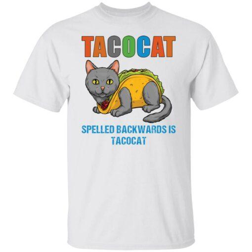 Tacocat spelled backwards is tacocat shirt $19.95 redirect05242021060537