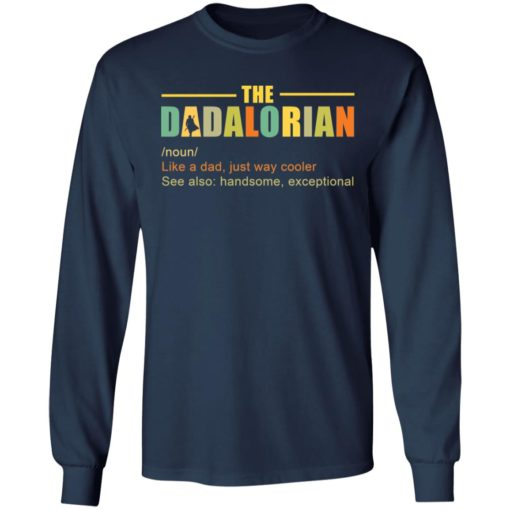 The Dadalorian like a Dad just way cooler shirt $19.95 redirect05242021220518 1