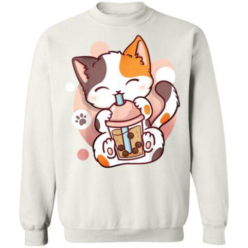 Cat boba tea bubble tea anime kawaii neko shirt $19.95 redirect05252021000549 5