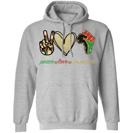 Peace love juneteenth shirt $19.95 redirect05252021230510 2