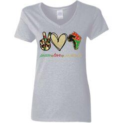 Peace love juneteenth shirt $19.95 redirect05252021230510 9